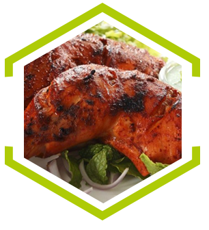 Tandoori Chicken(Main)